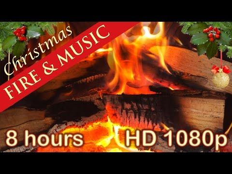 8 Hours Christmas Music With Fireplace Christmas Songs