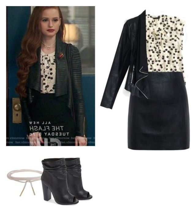 Cheryl Blossom - Riverdale by shadyannon on Polyvore featuring polyvore fashion style Chicwish McQ by Alexander McQueen Kristin Cavallari Humble Chic clothing