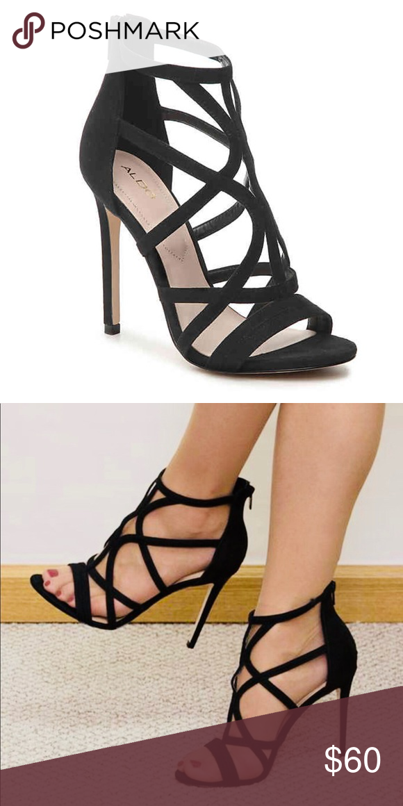 cc38881a63e ALDO black heels Keep it sassy in the Tifania sandal from Aldo ...