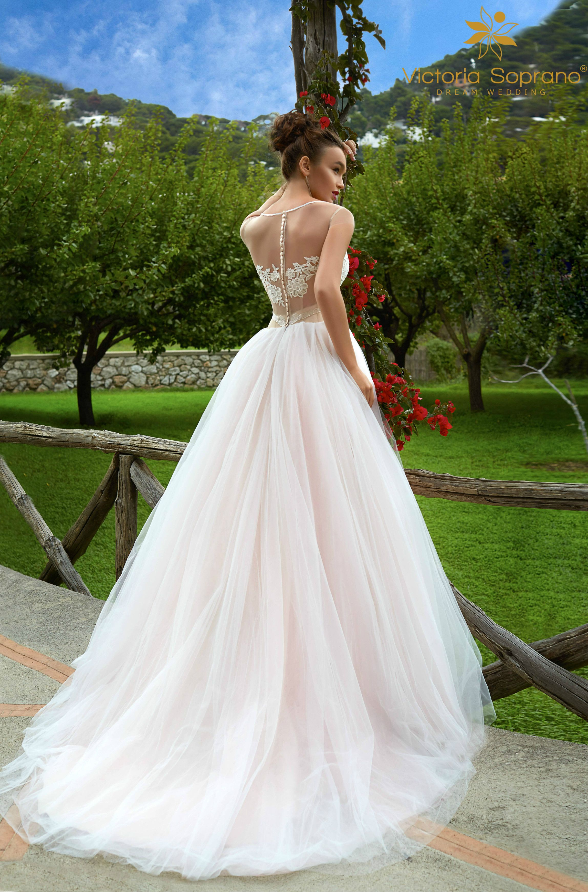 Lace wedding dress tulle november 2018 Godgess gown Climentine  Weddings  Pinterest  Gowns Wedding
