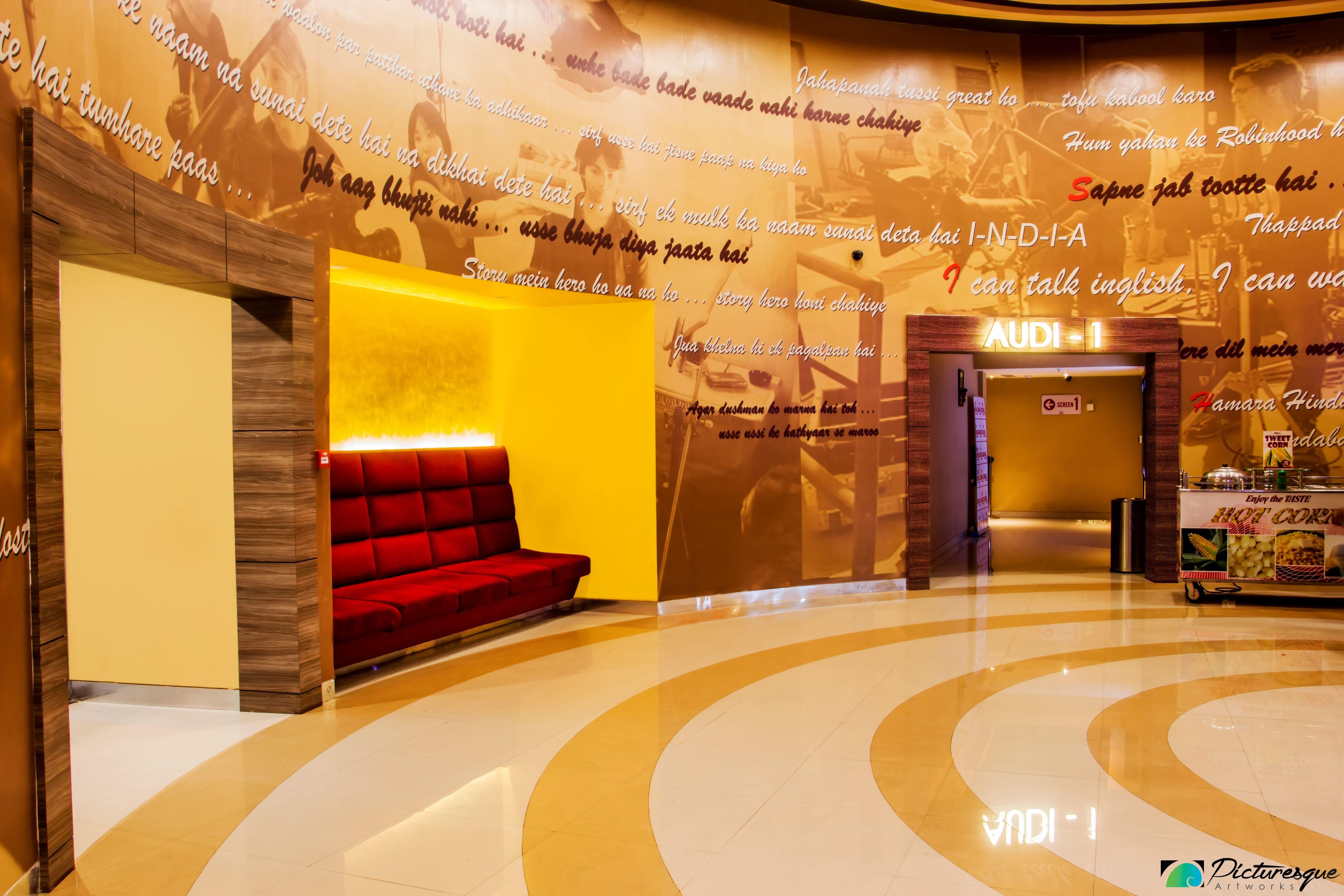 village cinema doncaster entrance foyer interior. Black Bedroom Furniture Sets. Home Design Ideas