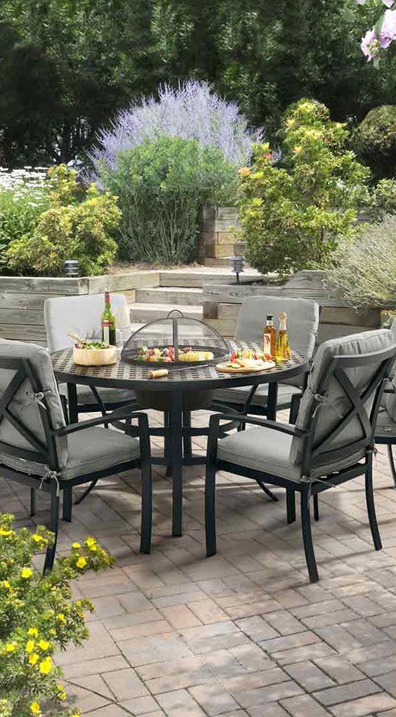 Gemütliche Sitzecke Garten | Diningsessel Aus Aluminium Von Hartmann |  Hartman Jamie Oliver Diningsessel   Gibtu0027s