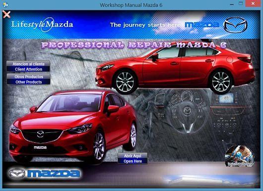 Manual De Taller Y Reparacion Mazda 6 2013