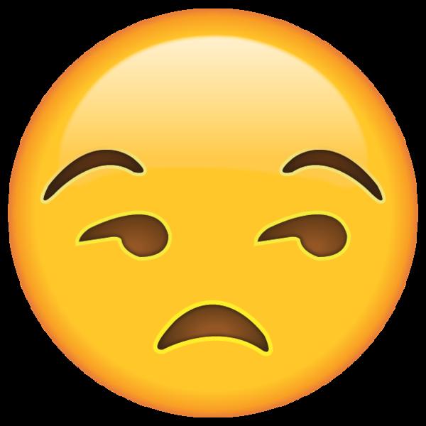 Unamused Face Emoji Desenhos De Cabelos Cacheados Carinhas Animadas Emoji