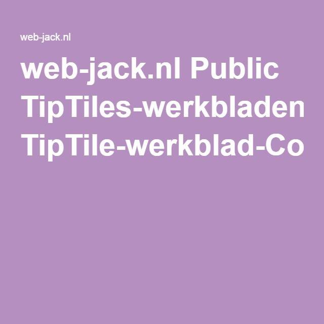 web-jack.nl Public TipTiles-werkbladen TipTile-werkblad-Columbus.pdf