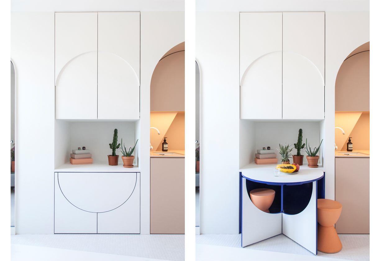 Case piccole: 11 mq pop up - LivingCorriere   Apartamentos