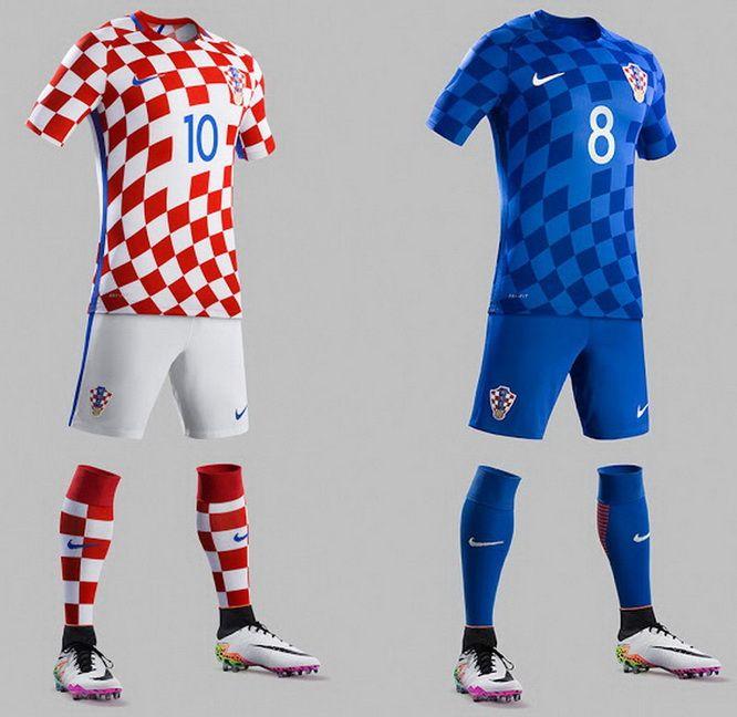 La Croatie t-shirt en maillot Look