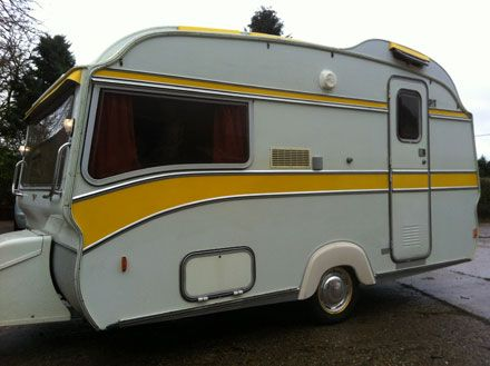 Meet Tulip a lovely vintage van from - The English Caravan Company