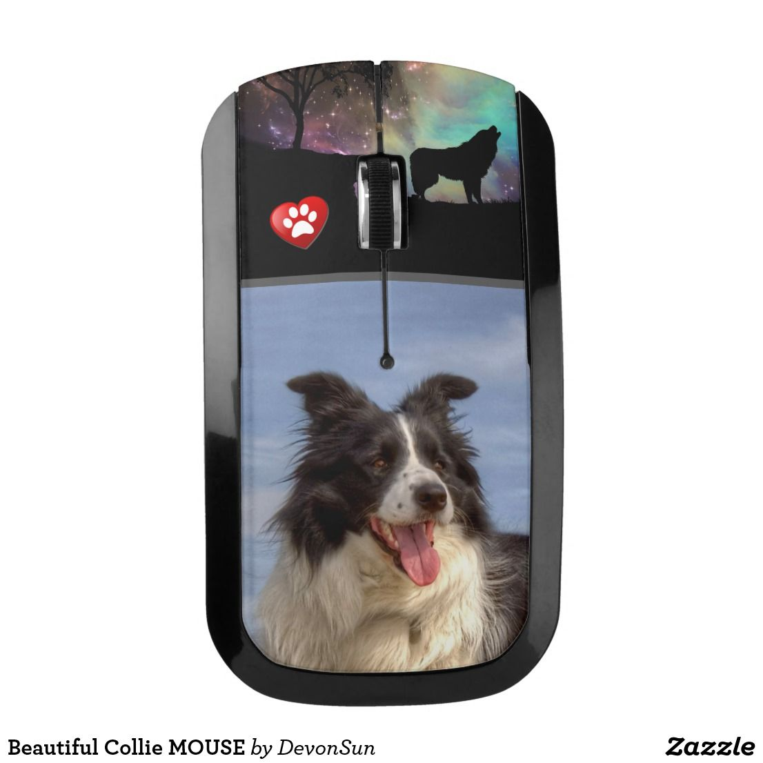 Beautiful Collie Mouse Zazzle Co Uk Collie Dogs Dog Gifts