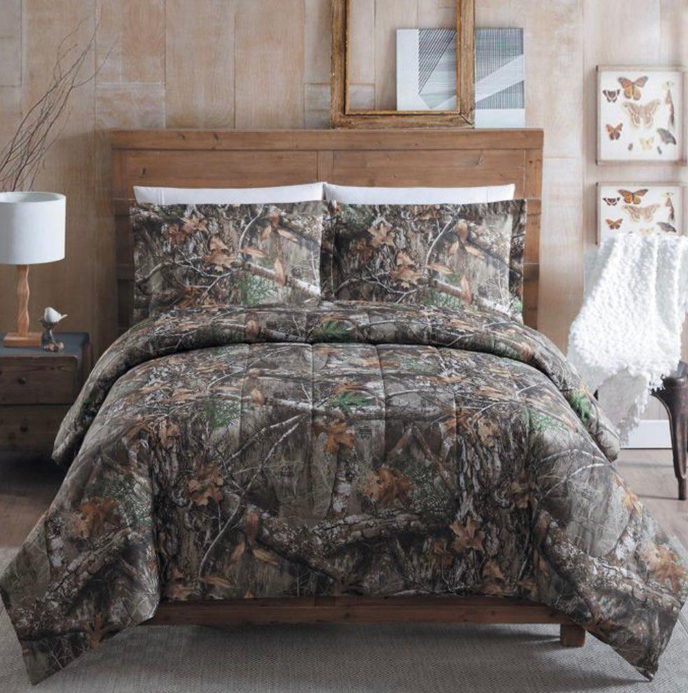 Realtree EDGE bedding set Comforter sets, Full comforter