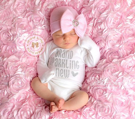 1014042a5b13 Newborn outfit, hospital outfit, coming home outfit, baby girl ...
