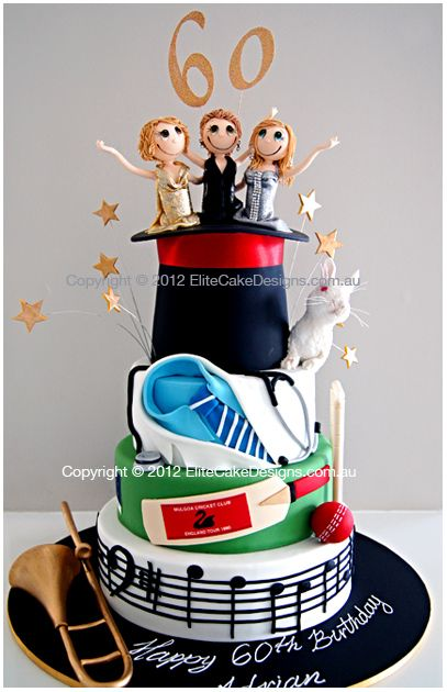 Lifestyle Hobby Novelty Birthday Cake Cakes Sydney 21st Custom Theme Designs Designer By EliteCakeDesigns