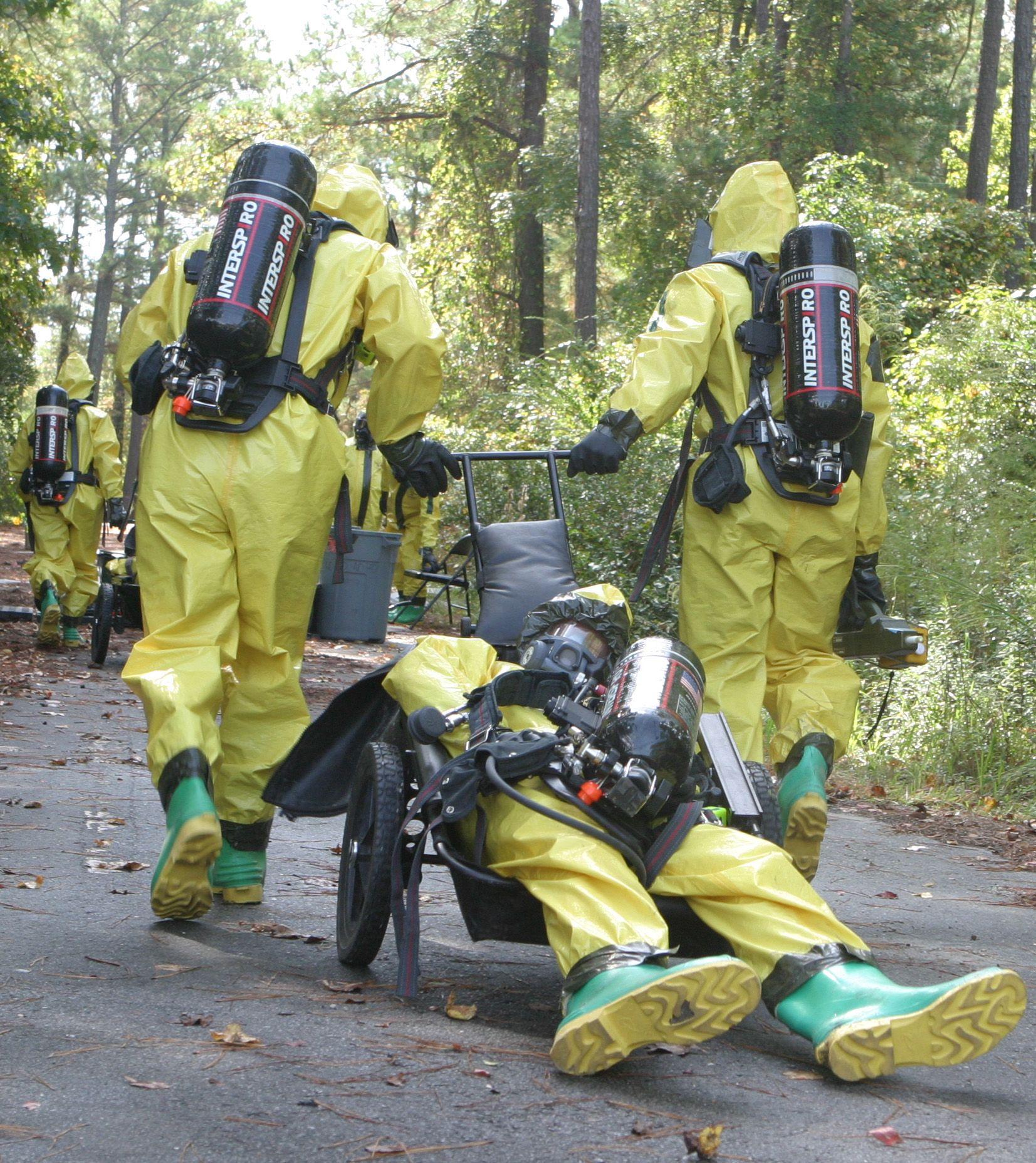 Resultado de imagen de firefighters training cbrn suit | Fire