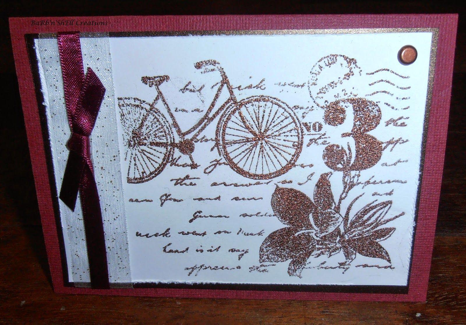 Barbnshellcreations cards stampin up handmade