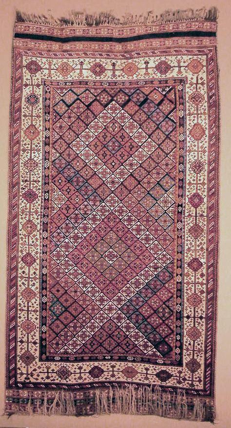 Qashqāʾi circa 1890 Dimensions 294 x 138 cm (115 3/4 x 54