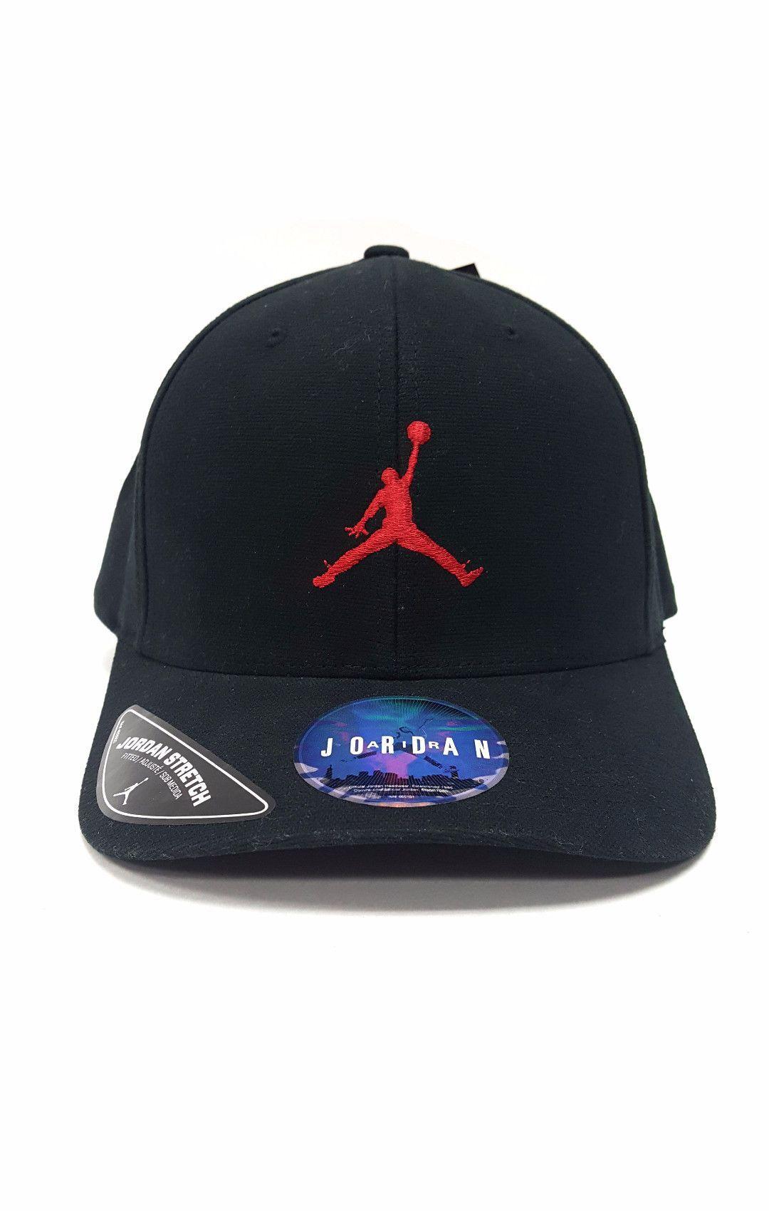 7b9b532e3463 ... official jordan flex fitted stretch hat jumpman black red l xl d0000  e7366