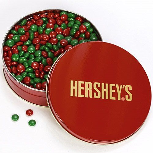 best gifts hershey ets candy coated chocolates 1 pound tin big chocolate chocolate