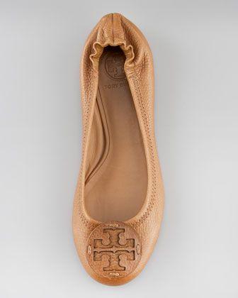 4de37e3435e3 Tory Burch Reva Logo Ballerina Flat