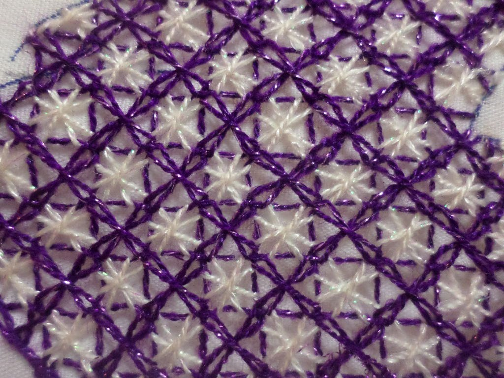 Knitting Embroidery Bordado : Bordado fantasía kimono geisha de fantasia