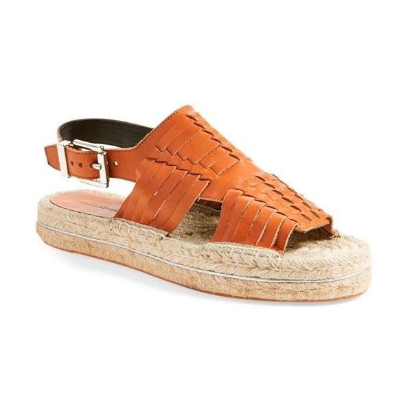 12a7e3566e07 Rebecca Minkoff  Gabriel  Espadrille Platform Sandal (645 AED) ❤ liked on  Polyvore featuring shoes
