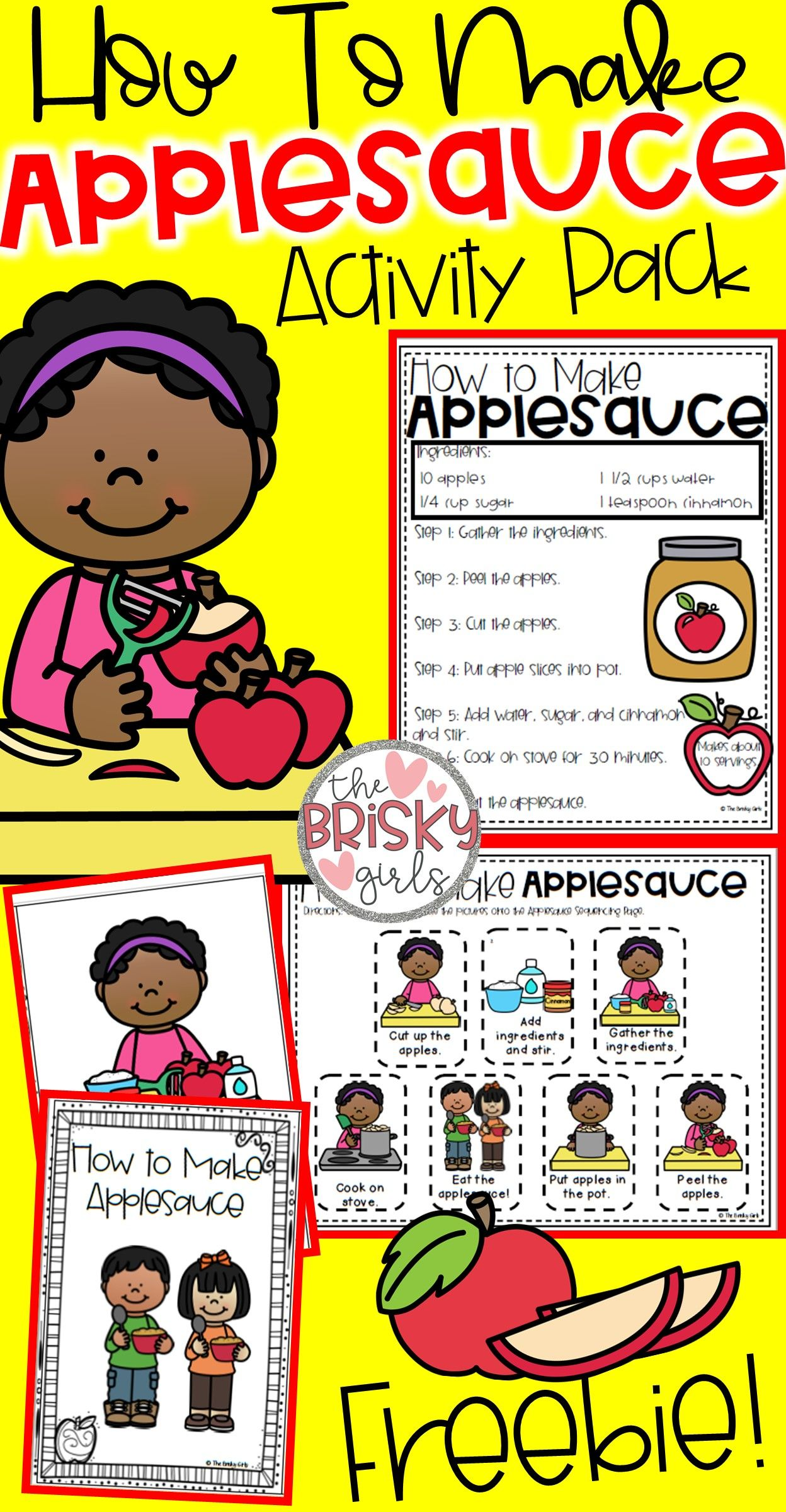 How To Make Applesauce Apple Day Apple Day Preschool