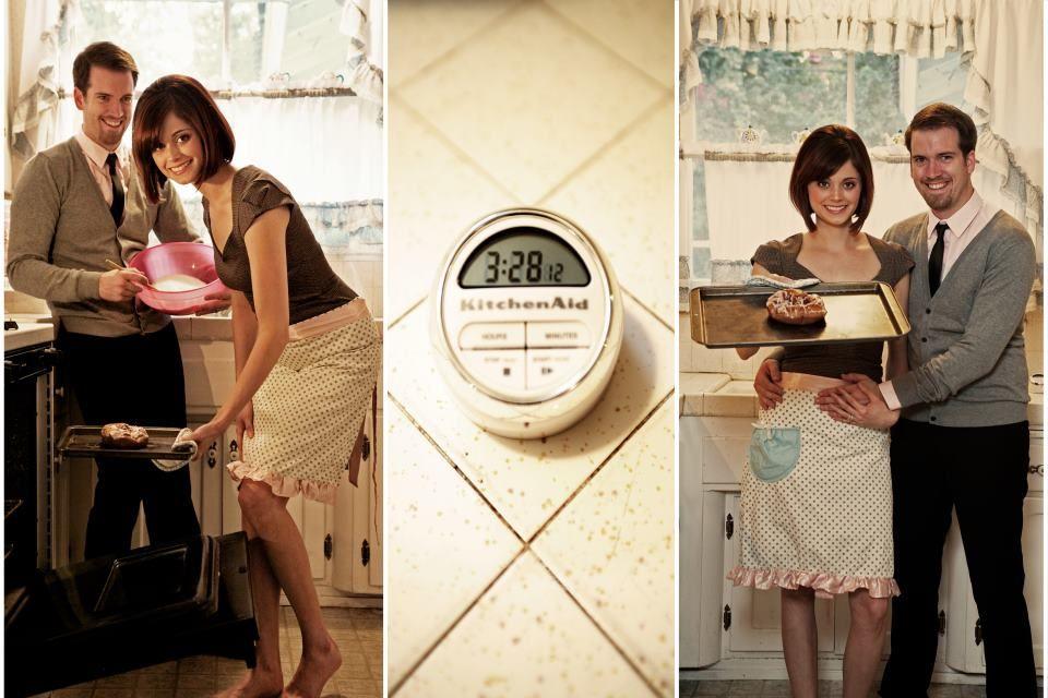 Bun in the oven announcement. Due March 28, 2012. Photos by vasquez.co