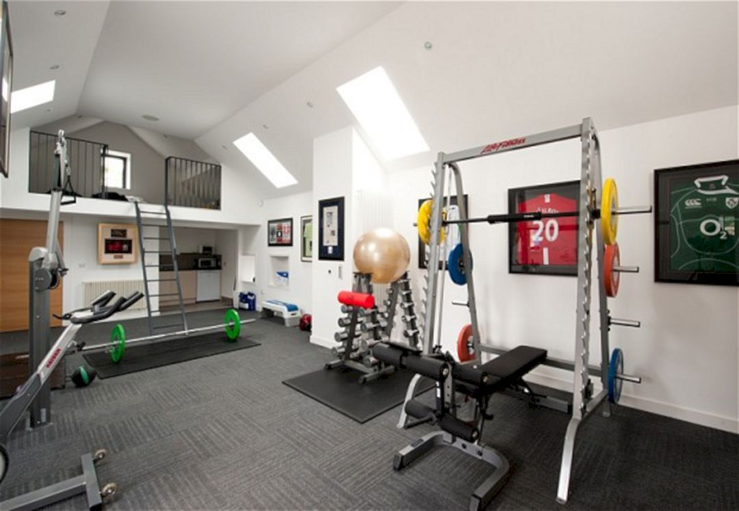 Delightful Home Gym Decorating Ideas Photos Part - 9: Flawless 25+ Incredible Home Gym Decorating Ideas Https://freshouz.com/