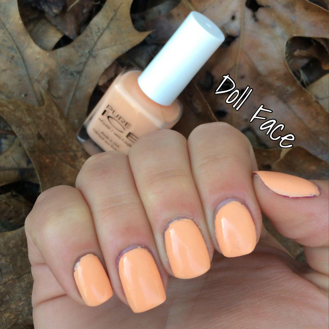 88. Pure Ice: Doll Face #Nails #NailSwatch #NailPolish | Nail Polish ...