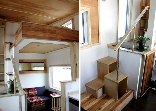 Compact Living Ideas leafhouse tiny house - google search | tiny life | pinterest