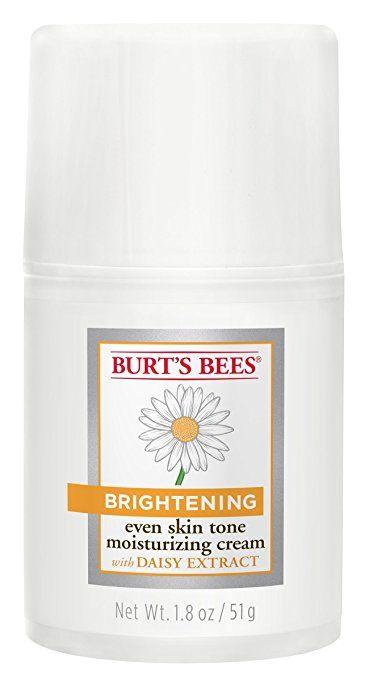 Burt's Bees Brightening Even Skin Tone Moisturizing Cream, 1.8 Ounces