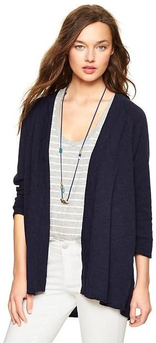 Gap Slub open-front cardigan on shopstyle.co.uk  6af6d7c03