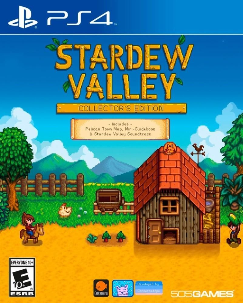 Stardew Valley Collector S Edition Physical For Playstation 4 Or Xbox One For 15 99 W Gcu Https T Co Urstr Stardew Valley Xbox One Stardew Valley Xbox One
