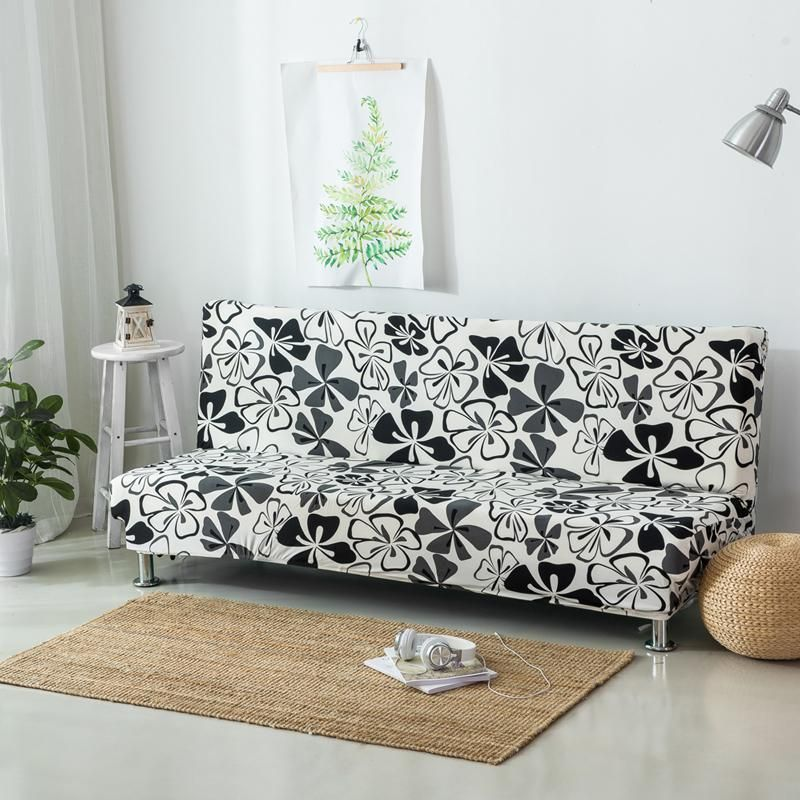 Elastic Case For Sofa Without Handrail Printed Sofa Covers Couch
