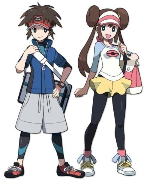 pokemon black and white 2 female trainer pokémon pinterest