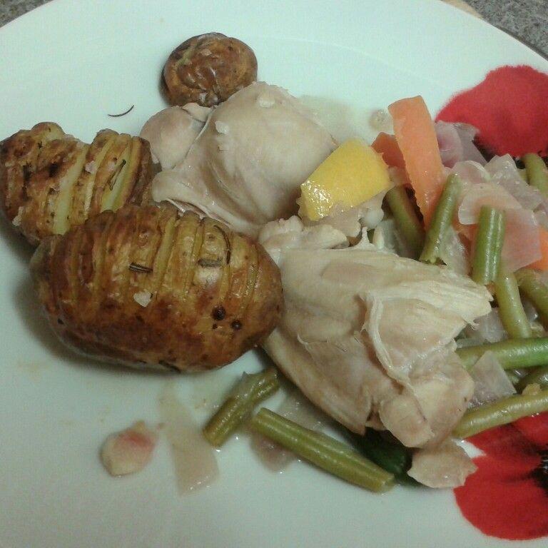 Lemon chicken casserole 900g skinless and boneless chicken