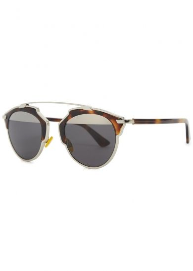 d82c913d1f098 Dior So Real clubmaster style sunglasses - Women