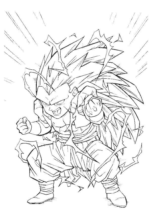 Dragon Ball Z Imagenes para Colorear   mar del plata by Alejandra ...