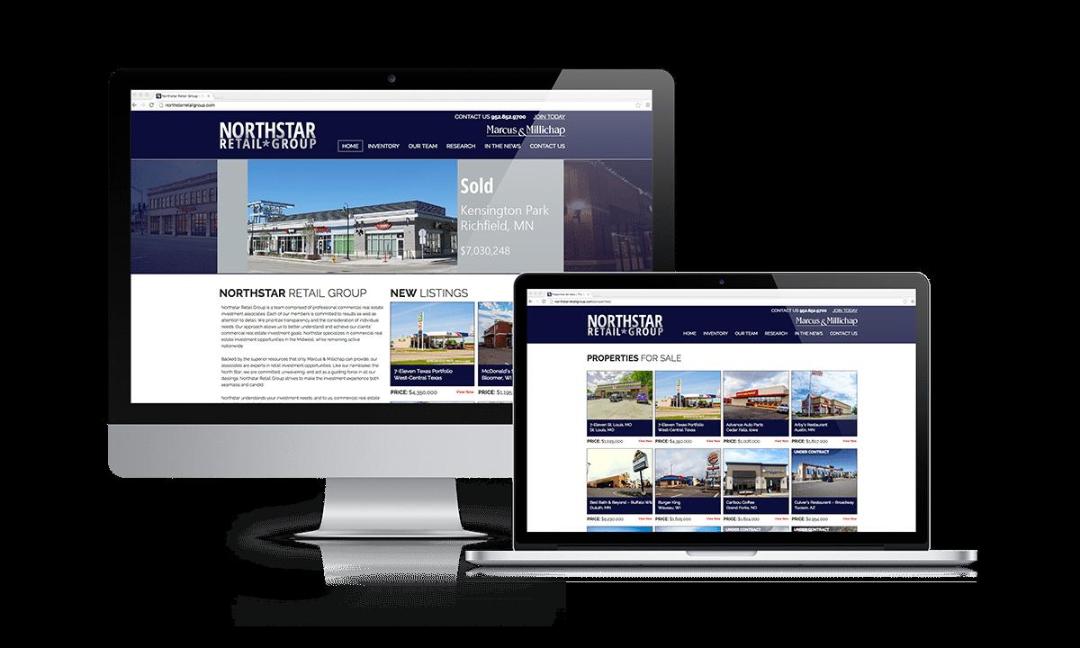 Case Study: Northstar Retail Group - BizzyWeb