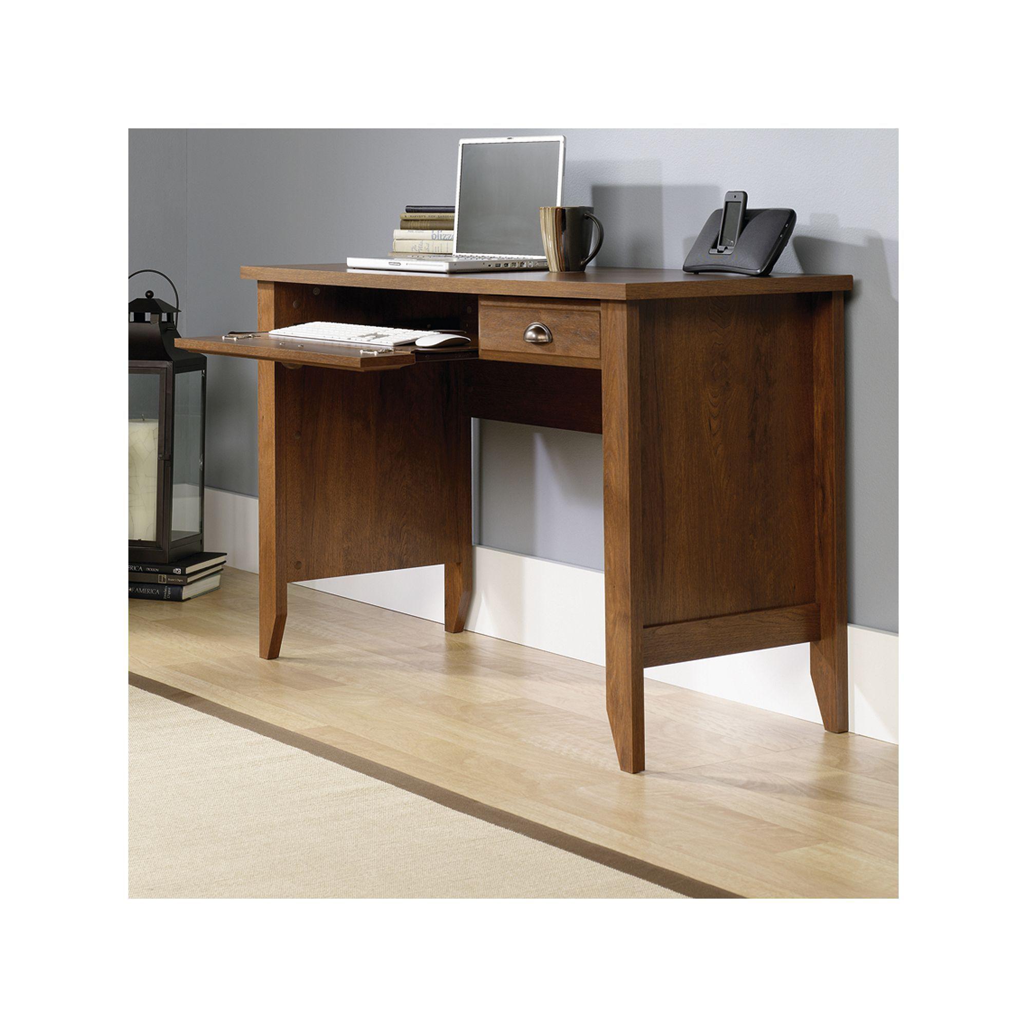 Sauder Shoal Creek Desk In 2019 Oak Computer Desk Desk With