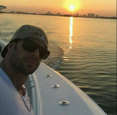 William Levy - gone fishing