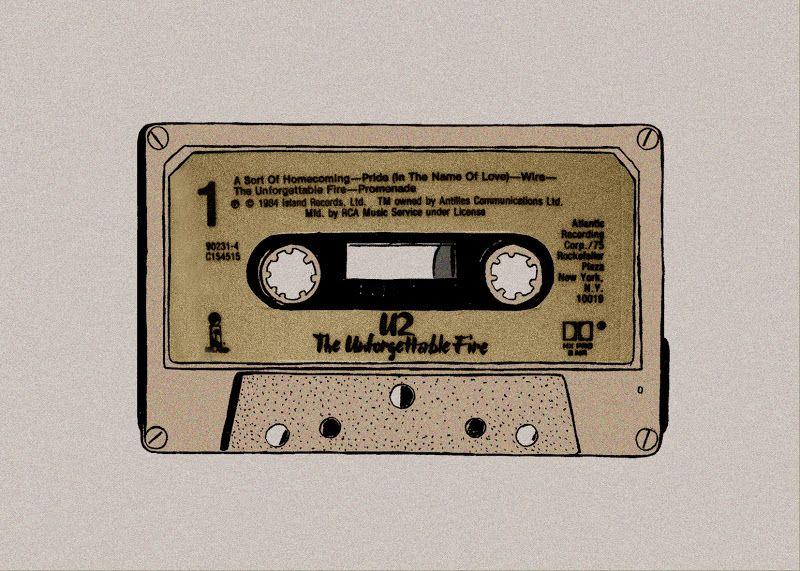 Cassette U2 Arte