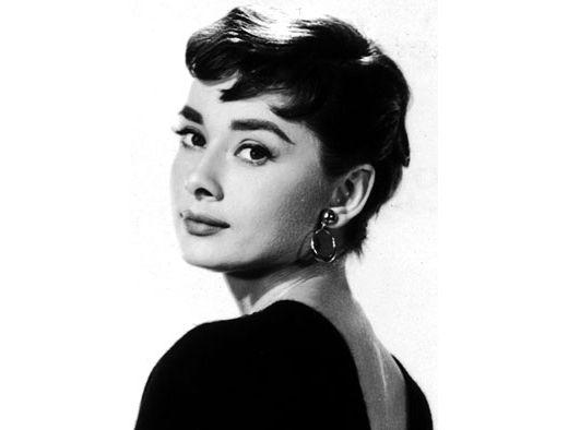 Audrey Hepburn en pixie crop