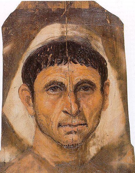 Fayum mummy portraits | Arte egipcio, Pintura encáustica y