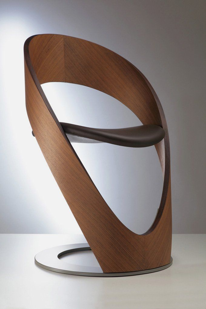 chaise bois design mobilier de salon