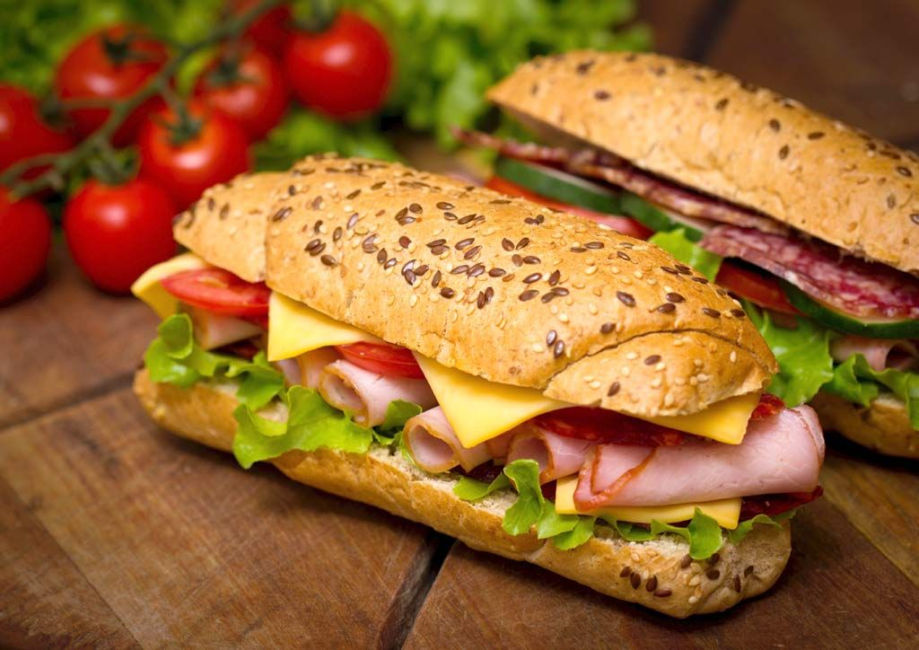 August Is National Sandwich Month A Great Time Not Only To Try A Different Type Of Sandwich But Also To Practice Food Fast Healthy Meals Food Healthy Recipes