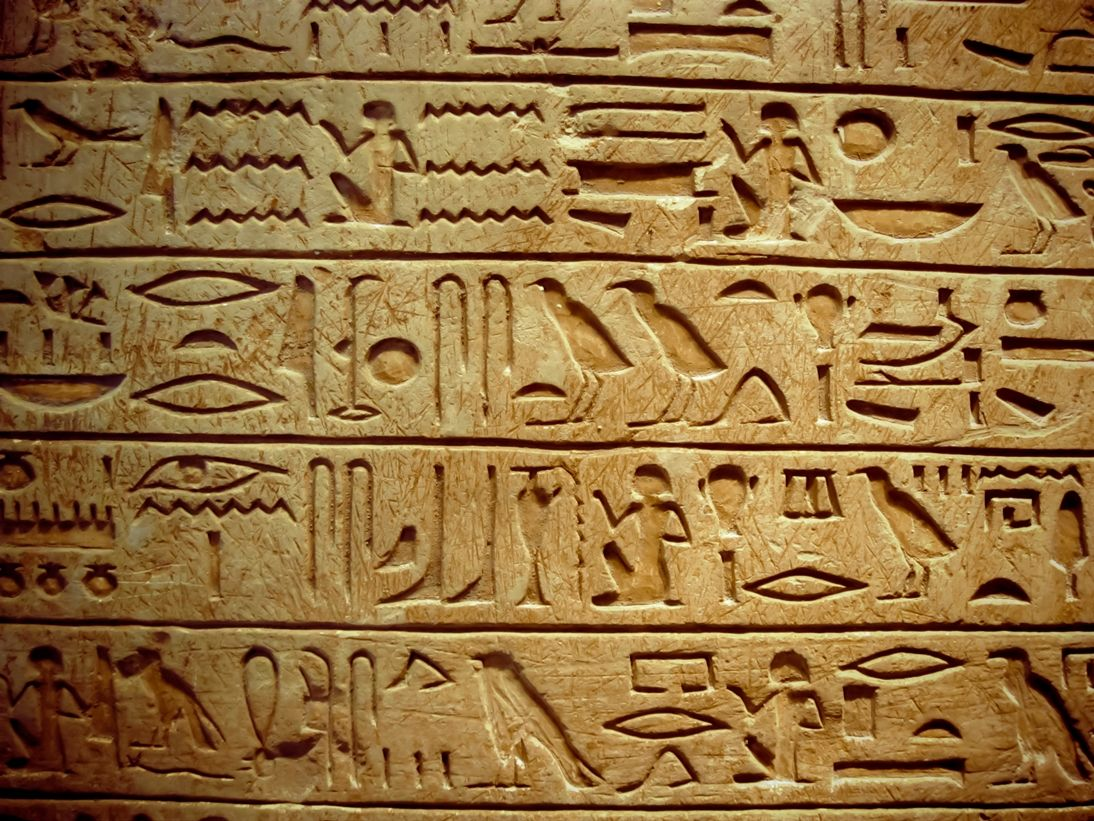 Egypt writing and language