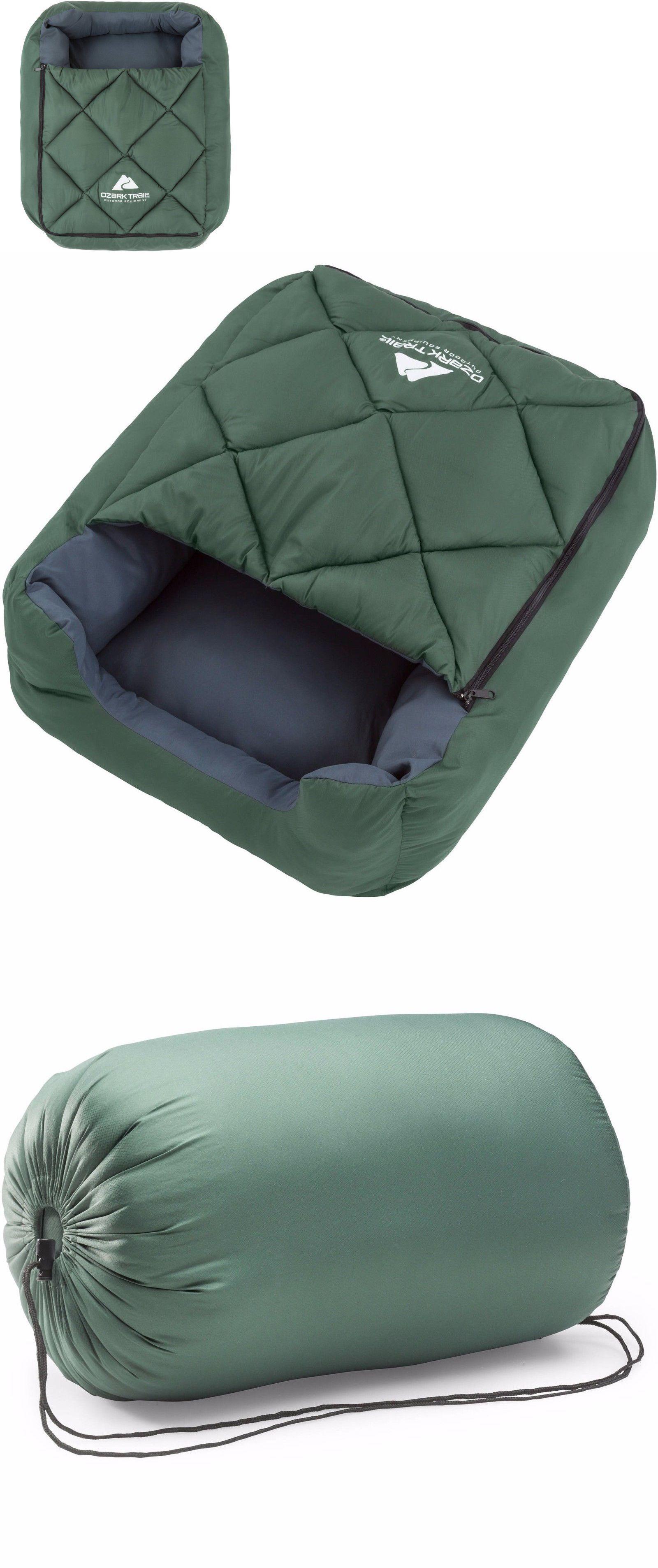 Beds 20744 Ozark Trail Dog Sleeping Bag Pet Soft Bed Warm Cushion Pillow Mat Nest