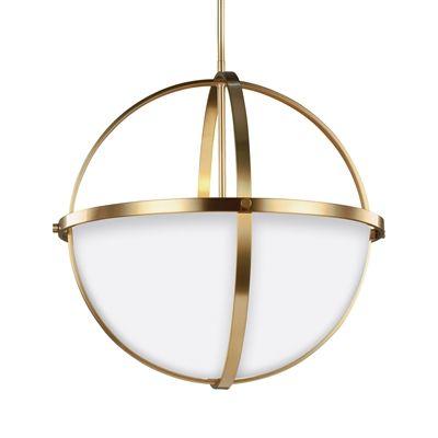 sea gull lighting 6624603en alturas 3 light led pendant lighting