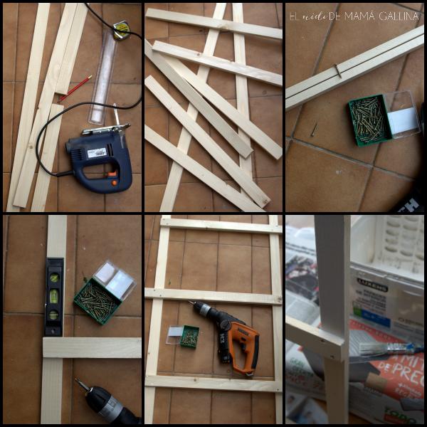 Diy: cómo hacer una escalera decorativa