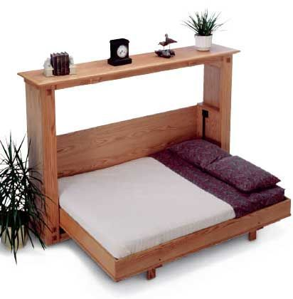 Murphy Bed Just Right For A Tiny Home When Folded Up It Will Have A